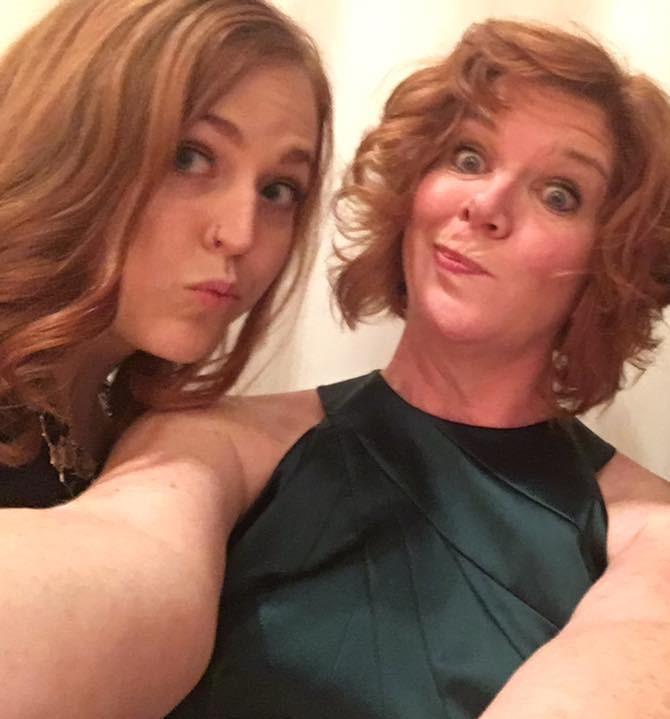Carissa and Erica